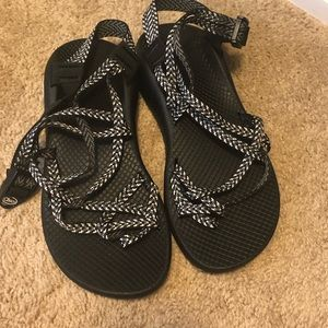 Brand New ZX/2 Black & Gray Chacos, Never Worn